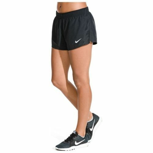339e48702bb87 Nike Women s Flex 2 in 1 Running Shorts Size Large L Black Dri-fit for sale  online