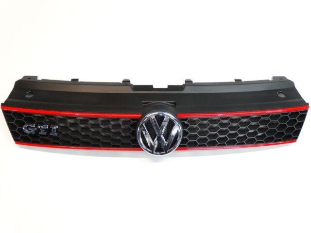VW Original 6R0853651RQWD Radiator Grill for VW Polo 6R GTI