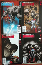 Ultimate Human #1-4 - Lot Of 4 Hulk Vs Iron Man - (High Grade) 2006
