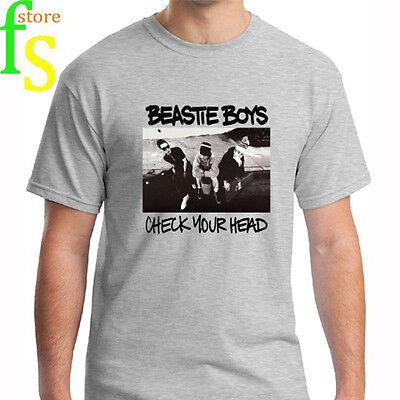 BEASTIE BOYS CHECK YOUR HEAD Men/'s T-Shirt Size S-2XL