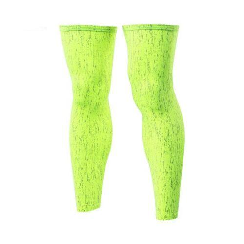 Men Women/'s Cycling Leg Warmers Knee Protector Gear Sun UV Protection Reflective