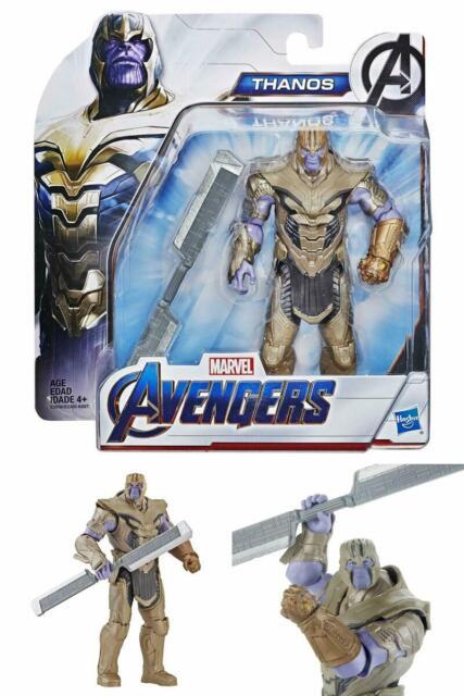 Avengers Endgame Warrior Thanos Hero Deluxe Figure Kids Infinity Gauntlet  Toy