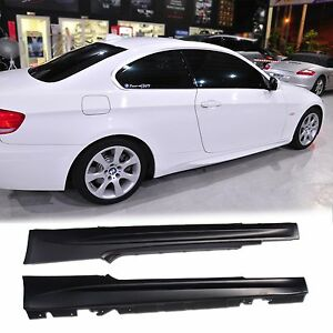 BMW E92 M3 Coupe E93 M3 07-11 Side Skirts 320i 323i 325i 328i 330i 335i PP Paint