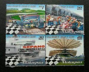 SJ-Malaysia-Grand-Prix-1999-Sepang-Sport-Circuit-Games-Car-F1-stamp-MNH