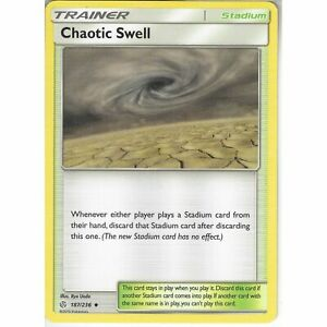 187-236-Chaotic-Swell-Uncommon-Trainer-Card-SM12-Cosmic-Eclipse-Pokemon-TCG