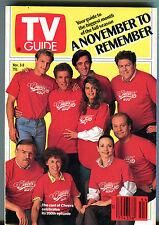 TV Guide Nov. 3-9 1990 Cast of Cheers Celebrates 200th Episode EX 011216jhe2