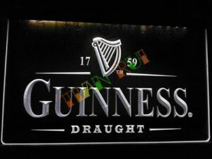 Details about Guinness LED Neon Bar Sign Home Light up + Replacement LED  Strip Extra beer