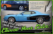 Billboard Cuda Racing Stripes Fits 2008 2014 Challenger Sxt Rt Srt8