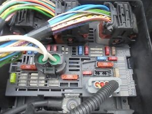 CITROEN C4 PICASSO FUSE BOX BSM 9666700080 WITH WIRING PLUGS UNDER BONNET  FIX | eBay | Citroen Picasso Fuse Box |  | eBay