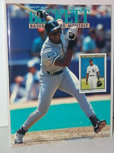 MLB-Beckett-October-1991-Issue-79-Frank-Thomas-Chicago-White-Sox-MINT