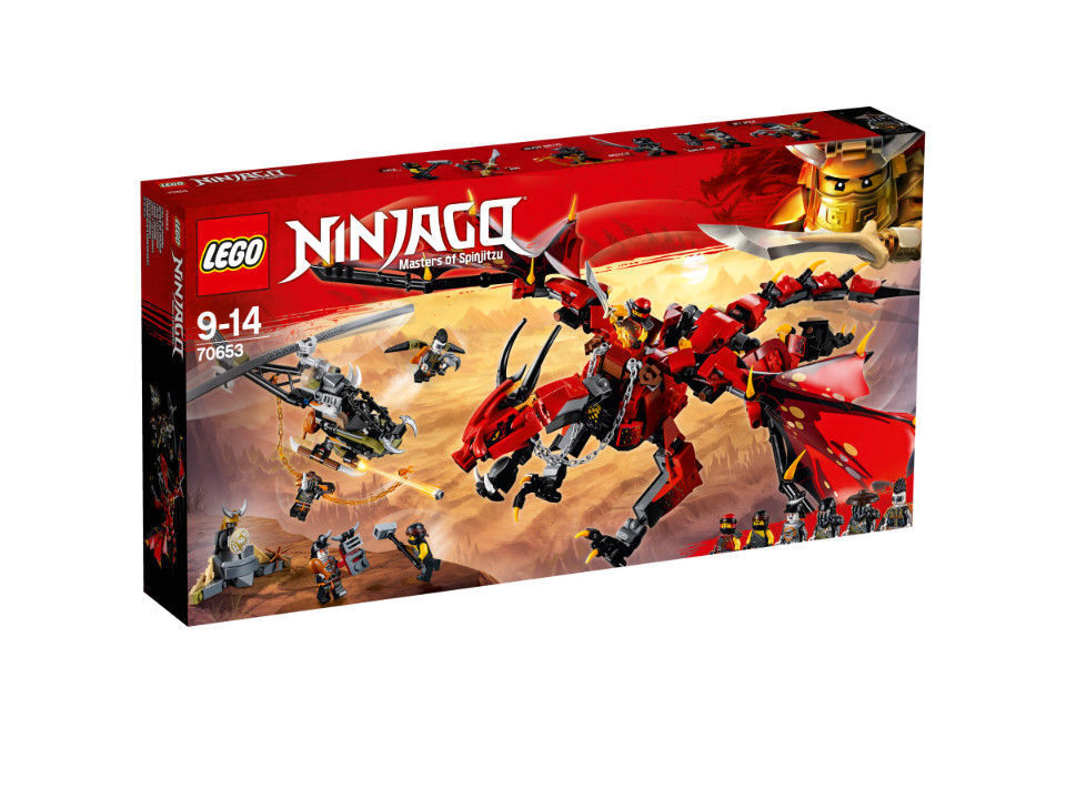 LEGO Ninjago Mutter der Drachen, Konstruktionsspielzeug