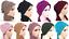 New-multi-way-plain-Turban-hats-underscarf-cap-hijab-stretchy-material-summer thumbnail 1