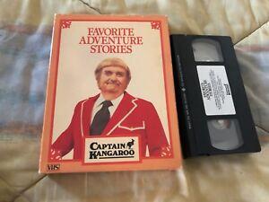 Capitano-Canguro-And-The-Destro-Cosa-a-Do-VHS-Britannica-Video-Raro-1985-in-Box