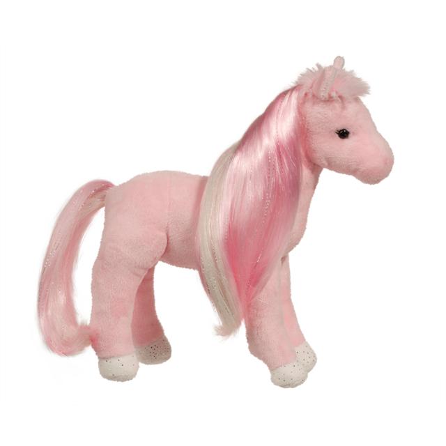 8 Inch Tess Pink Princess Horse Plush Stuffed Animal By Douglas Ebay
