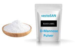 2 x 200 g D-Mannose Pulver Birke vectoSAN Black Label Premium vegan + natürlich