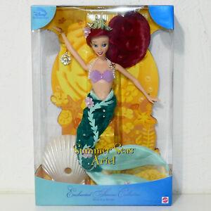 Disney-ARIEL-LITTLE-MERMAID-Barbie-Doll-2000-SUMMER-SEAS-1st-in-Series-NRFB