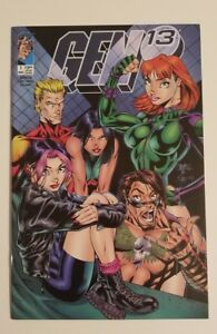 Gen-13-1-Image-J-Scott-Campbell-Cover-RARE-1995-Key-HTF-amp-FREE-SHIPPING