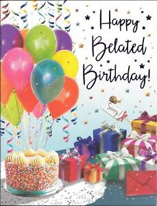 30 Belated Birthday Ideas Belated Birthday Belated
