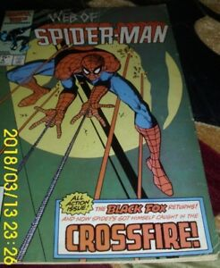 MARVEL-COMICS-034-WEB-OF-SPIDER-MAN-034-VOL-1-14-034-ALL-THAT-GLITTERS-034-CROSSFIRE