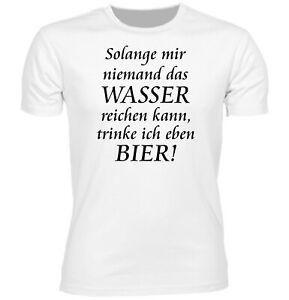 Details Zu Herren Fun T Shirt Wasser Reichen Bier Geschenk Beer Sprüche Lustig Gag Spaß
