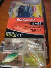 "Bass Walleye Bogdan/'s Tackle Supply 26pc 5/"" Grub Kit Pike Plano."