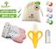 Handschuh Beißring für Babys Giraffe Banane Babyzahnbürste Fingerzahnbürste