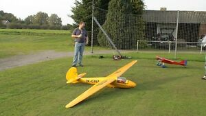 """Glider RO8   78/""""   two meter Sailplane RC AIrplane Printed Plans /& Templates"""