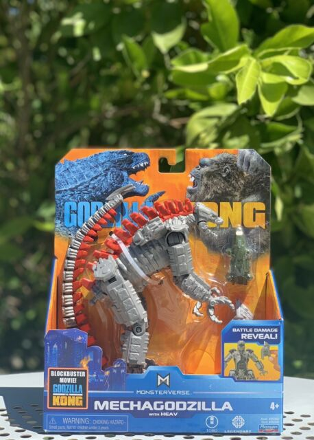 """Playmates Monsterverse Godzilla vs Kong MECHAGODZILLA 6"""" Free Shipping!!"""