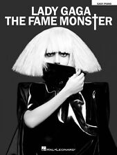 Lady Gaga The Fame Monster Sheet Music Easy Piano Book NEW 000307181