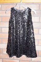 Lmg Boutique Brand Black Sequin Pageant Formal Dress Sz 6 / 8 $79.99