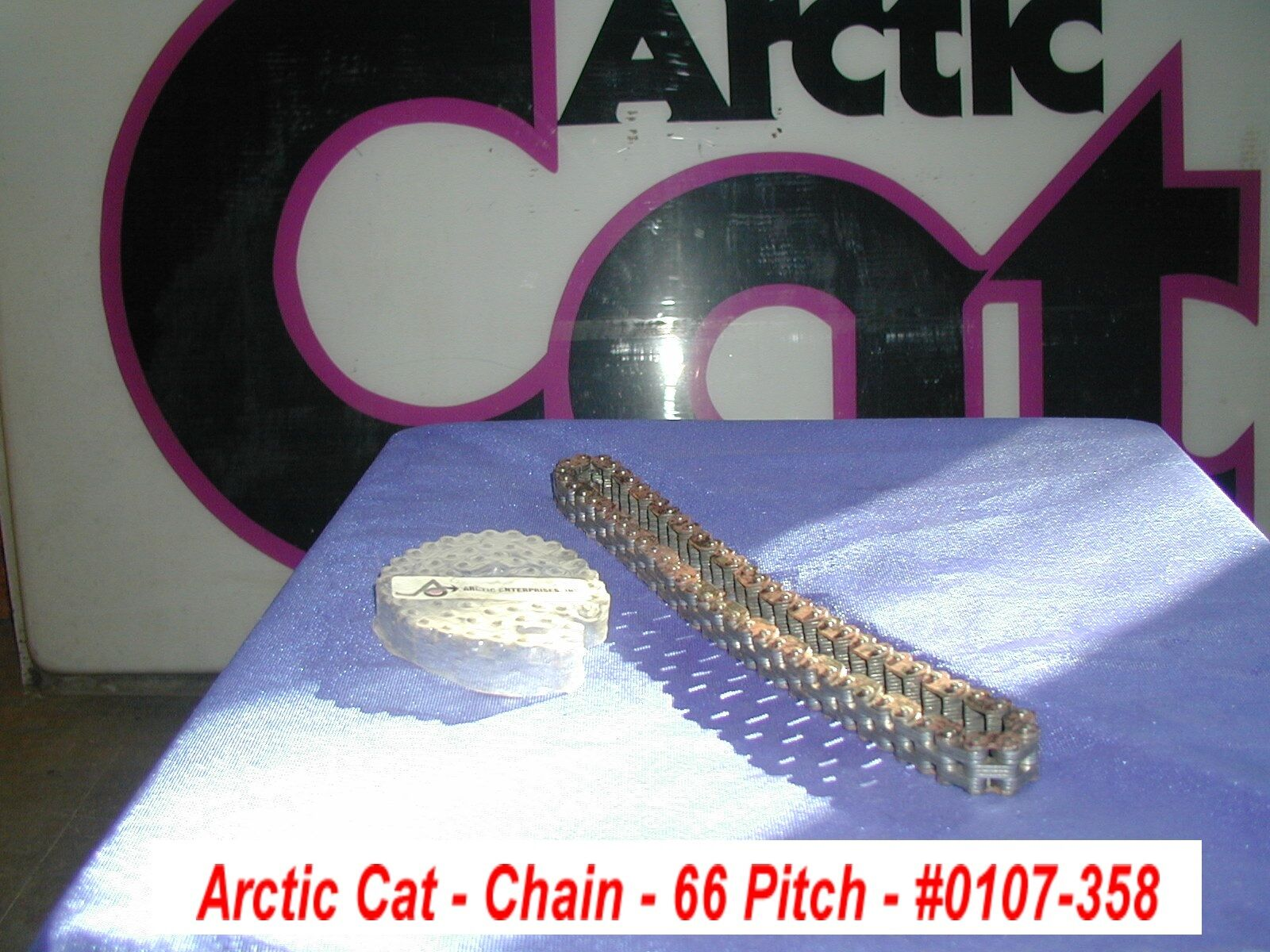 Arctic Cat Snowmobile Silent Chain Pitch