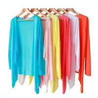 Beach Clothing Knit Tops Air-conditioned Shawl Wrap Sun Summer Protection Shirt
