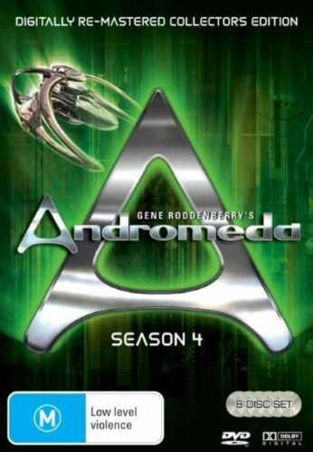 1 of 1 - ANDROMEDA - SEASON 4 - REMASTERED EDITION (6 DVD SET) BRAND NEW!!! SEALED!!!