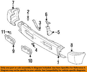 Genuine Toyota Parts 52116-AC010 Driver Side Front Bumper Cover Support