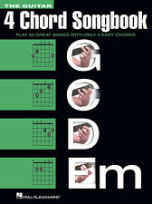 The Guitar 4 Chord Songbook GCDEm 50 Songs! Book NEW!