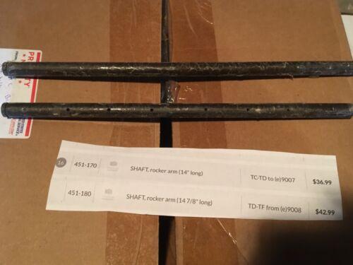 "MGTC MGTD rocker arm Shaft 14/"" long"