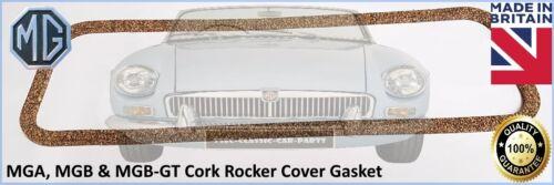 MGB-GT CORK ROCKER COVER GASKET AJM402 MGB MGA