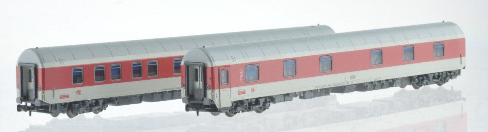 LS Models Esplendidos 96910 DB AG CNL 2x Sleeping Car DB Red White Ep6 NEW + OVP