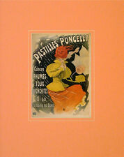 Jules Cheret Pastilles Poncelet Poster Kunstdruck Bild 50x40cm - Portofrei