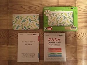 Nintendo-3DS-LL-Luigi-30th-Anniversary-Pack-Consoles-Japan-limited-green-F-S