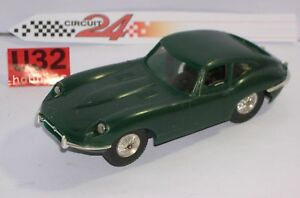 In Genteel Fn Circuit 24 8205 Jaguar E Typ GrÜn Ausgezeichnet Zustand Unboxed Novel Design;