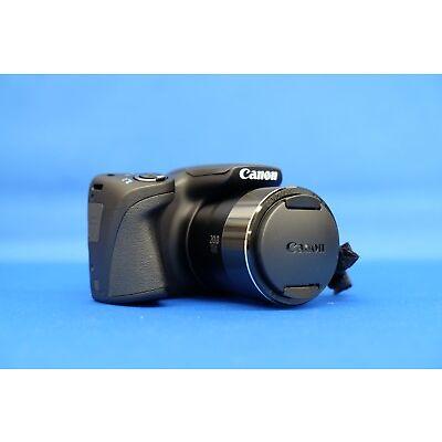 CANON PowerShot SX420 IS Black 20MP Digital Camera Japan Domestic Version New