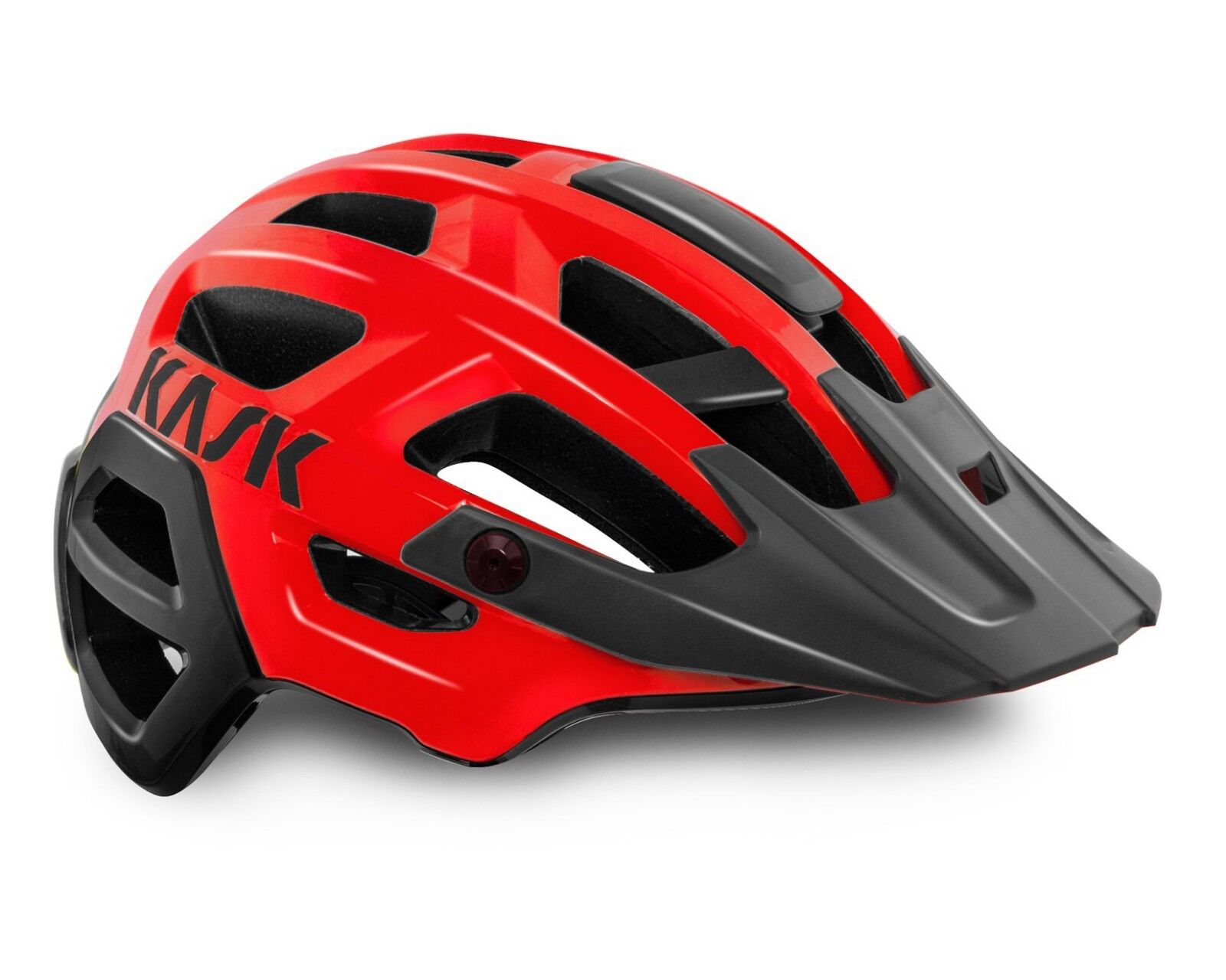 KASK REX MTB Cycling Helmet - Red [M 52-58. L 59-62cm]