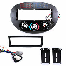 Ford Escord & Mercury Tracer Single Din Radio Dash Mounting Kit and Wire Harness