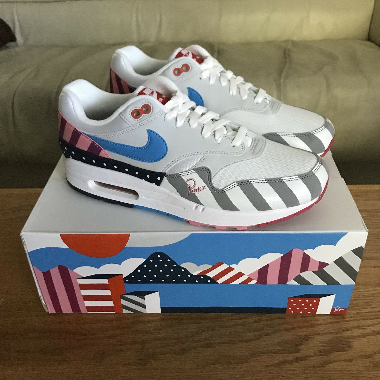 Parra x Nike Air Max 1 2018 Brand New Size 10 AT3057 100