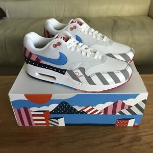 wholesale dealer 2271e a0779 Image is loading Parra-x-Nike-Air-Max-1-2018-Brand-