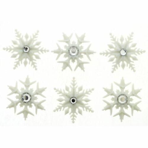 Jesse James Buttons Dress It Up  ~ FANCY SNOWFLAKES 9498 craft  sew quilt