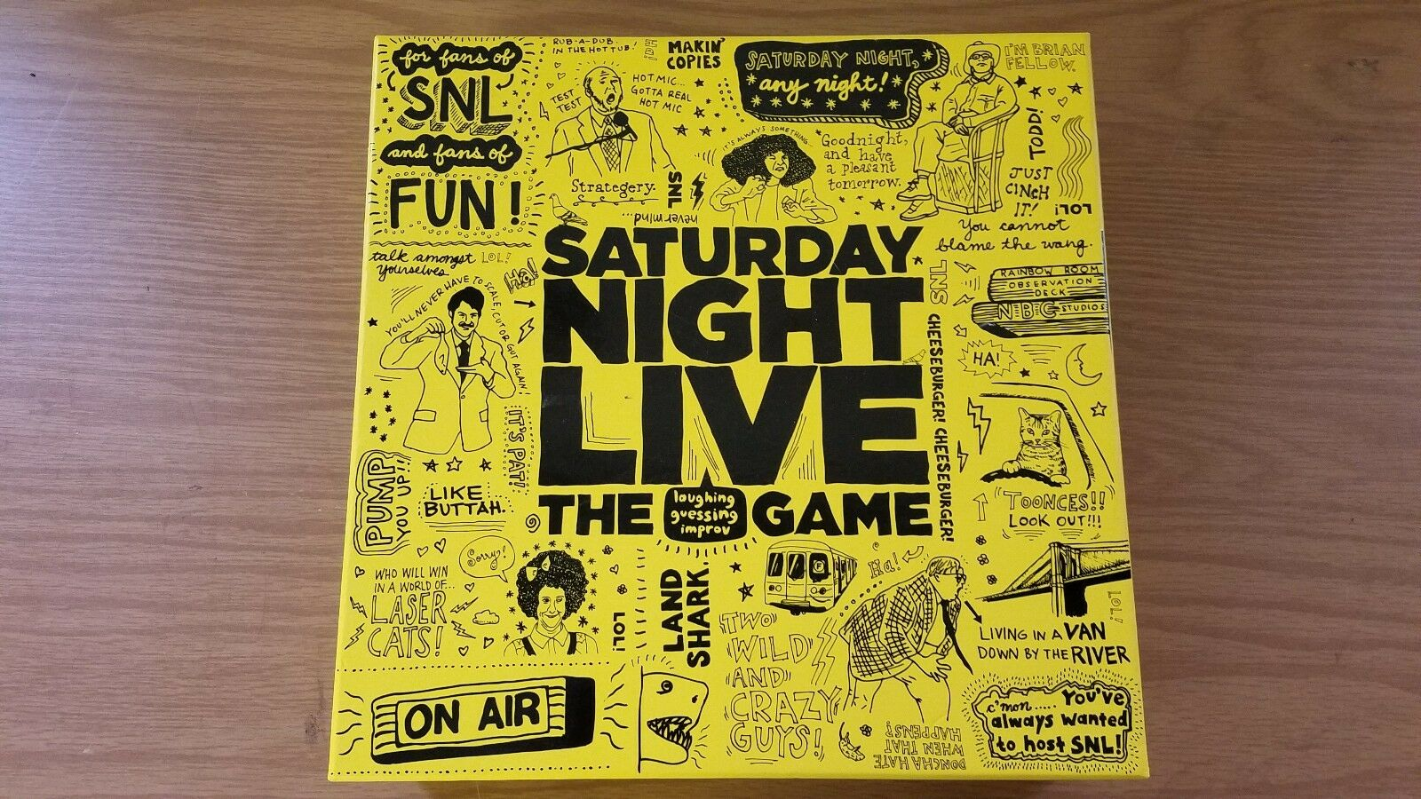 2010 Saturday Night Live The Game by Discovery Bay Games COMPLETE