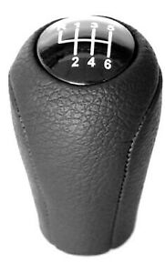 Gear-Shift-Knob-for-Mazda-Screw-on-type-M10x1-25-Thread-6-speed-Leather