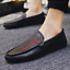 Men-039-s-Driving-Moccasins-Casual-Boat-Shoes-Leather-Shoes-Light-Slip-On-Loafers thumbnail 1